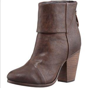 Rag & bone Classic Newbury Brown Leather Bootie